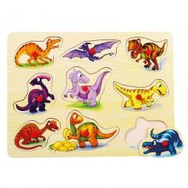 Puzzle Dinosaury na doske