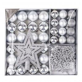 Vianočný set Luxury strieborná