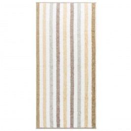 Cawo Frottier uterák Stripe natural, 50 x 100 cm