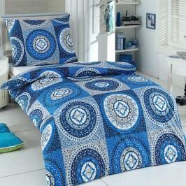 Night in Colours Bavlnené obliečky Gipsy modrá, 220 x 200 cm, 2 ks 70 x 90 cm