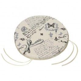 Sedák okrúhly hladký DANA List 40 cm