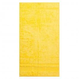 Bade HomeUterák Bamboo žltá, 50 x 90 cm