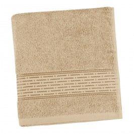 froté uterák Prúžok tmavo béžová, 50 x 100 cm