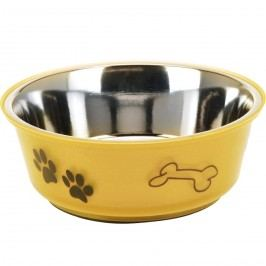 MIska pre psa žltá, 900 ml