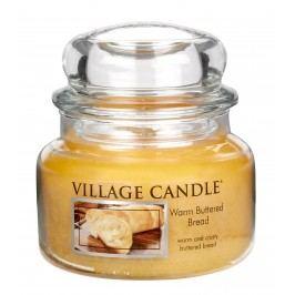 Village Candle Vonná svíčka ve skle, Teplé máslové houstičky - Warm Buttered Bread, 269 g, 269 g