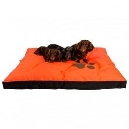 Samohýl exclusive Matrac nylon Boseň oranžová neón s labou 120 x 100 x 10 cm