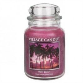 Village Candle Vonná svíčka ve skle, Palmová pláž - Palm Beach, 645 g, 645 g