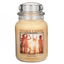 Village Candle Vonná svíčka ve skle, Plážová párty - Beach Party, 645 g, 645 g