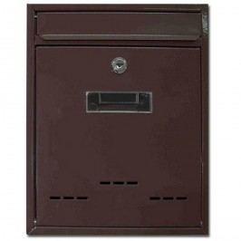 Poštová schránka Radim M hnedá, 26 cm