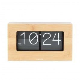 Karlsson 5620WD Designové stolné preklápacie hodiny