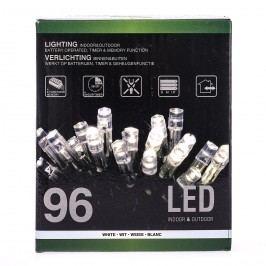 Vianočná svetelná reťaz, biela, 96 LED, 720 cm