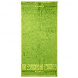 Osuška Bamboo Premium zelená, 70 x 140 cm