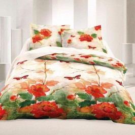 Kvalitex Saténové obliečky Luxury Collection Butterfly, 200 x 200 cm, 2 ks 70 x 90 cm