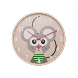 Detské nástenné hodiny s myškou JIP0902,