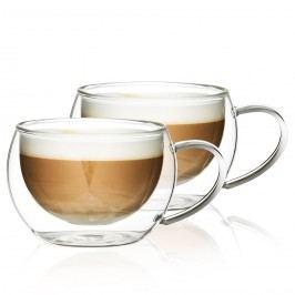 Termo pohár na cappuccino Hot&Cool 280 ml, 2 ks