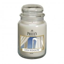 Price's Vonná sviečka v skle Large Jar Open Window