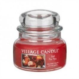 Village Candle Vonná svíčka ve skle, Jen pro Tebe - Just for You, 269 g, 269 g