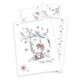 Detské bavlnené obliečky Hello Kitty,