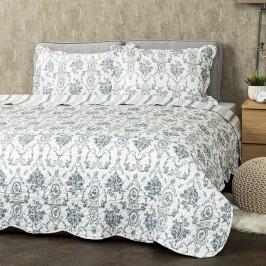 4Home Prehoz na posteľ Blue Patrones, 140 x 220 cm, 50 x 70 cm