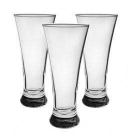 Pasabahce 3-dielna sada pohárov na pivo Pub, 320 ml