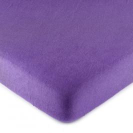 4Home jersey prestieradlo fialová, 140 x 200 cm