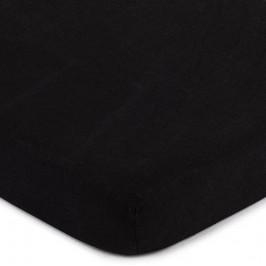 4Home jersey prestieradlo čierna, 140 x 200 cm