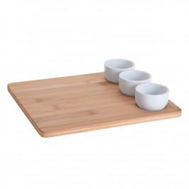 Excellent Houseware 4-dielna sada na sushi