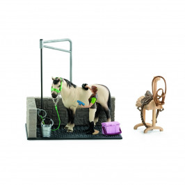 Schleich 42104 Umývací box pre kone s doplnkami