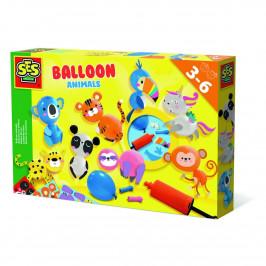 Ses Výroba zvieratiek z balónikov s pumpičkou