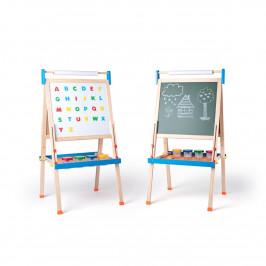 Woody Obojstranná tabuľa ABC, 59 x 57 x 129 cm
