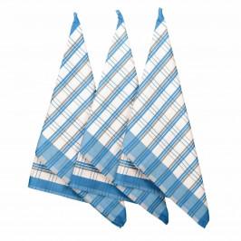 Forbyt Kuchynská utierka Blue, 50 x 70 cm, sada 3 ks