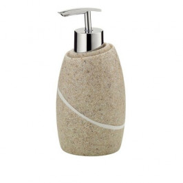 KELA Dávkovač mýdla TALUS poly, dekor kámen