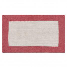 Trade Concept Prestieranie Heda béžová / červená, 30 x 50 cm