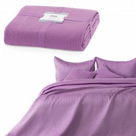 AmeliaHome Prehoz na posteľ Carmen lilac, 220 x 240 cm