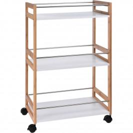 Kuchynský vozík Bamboo, 52 x 30 x 80 cm