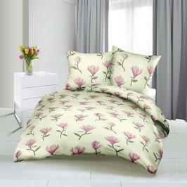 Bellatex Saténové obliečky Tulipán, 140 x 200 cm, 70 x 90 cm