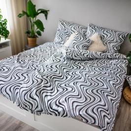 Jahu Saténové obliečky Ema Waves, 140 x 200 cm, 70 x 90 cm