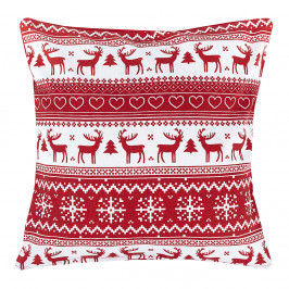 Trade Concept Vánočná obliečka Sob červená, 40 x 40 cm