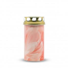 Náhrobná sviečka Ruža, 8 x 17,5 cm, 310 g