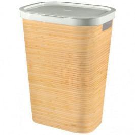 CURVER INFINITY Kôš na na špinavé prádlo 59l, vzor bambus 04761-B45