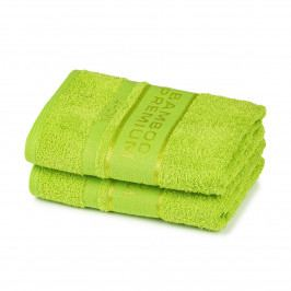 4Home Bamboo Premium uterák zelená, 50 x 100 cm, sada 2 ks