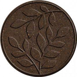 Benco Gumový nášľap na záhradu Lístie, hnedá