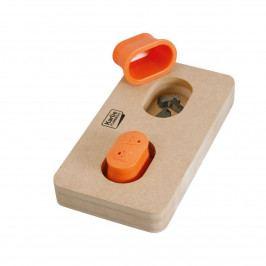 Karlie Flamingo Interaktivní dřevěná hračka KNUTH 22x12cm