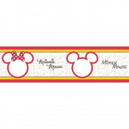 AG Art Samolepiaca bordúra Mickey Mouse a Minnie, 500 x 14 cm