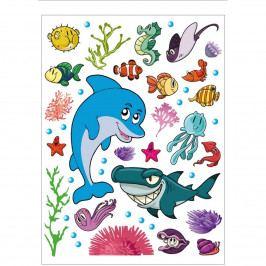 AG Art Samolepiaca dekorácia Morský život, 42,5 x 65 cm