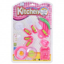 Detský hrací set Food and kitchen Knife, 11 ks