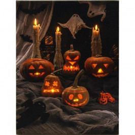 LED Obraz na plátne Pumpkin, 40 x 30 cm