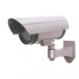 SOLIGHT maketa bezpečnostnej kamery na stenu LED dióda 2 x AA 1D40
