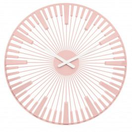 Koziol Nástenné hodiny Piano ružová, pr. 45 cm