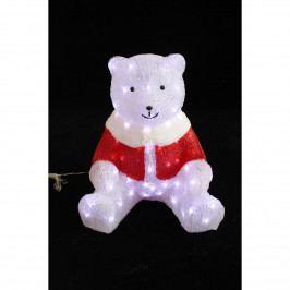 Vianočná svietiaca dekorácia Medvedík, 80 LED